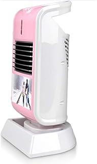 G&F Calentador De Espacio De Cerámica PTC De 230 Vatios,Mini Ventilador Eléctrico para Calefactor Personal con Oscilación Automática con 2 Configuraciones De Valor para Oficina Y Uso Doméstico,Pink