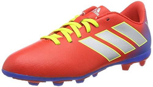 adidas Jungen Nemeziz Messi 18.4 Fxg J Fußballschuhe, Rot (Active Red/Silver Met./Football Blue Active Red/Silver Met./Football Blue), 35 EU
