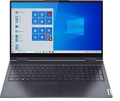 Lenovo Yoga 7i 2-in-1 15.6-inch FHD Touchscreen Premium Laptop PC, Intel Quad-Core i5-1135G7, Intel Iris Xe Graphics, 8GB DDR4 RAM, 256GB SSD, Backlit Keyboard, Windows 10 Home 64 bit, Gray