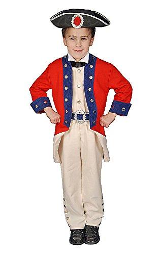 Dress Up America De Histórico Colonial Soldado Conjunto de Disfraces para niños