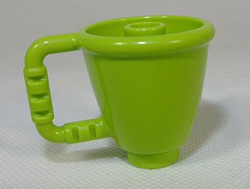 Tasse, limette (Lego Duplo Custom Set)