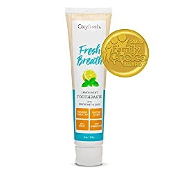 oxyfresh bad breath toothpaste