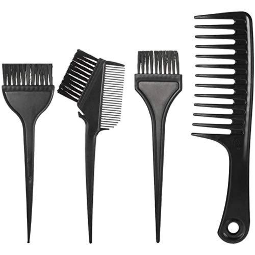8pcs coiffure Dye Jatte Brosses Pinces Set Outils tinctoriales cheveux Set Femmes cheveux Outils Styling