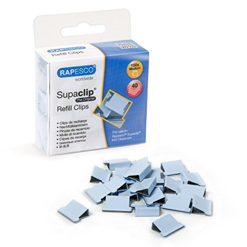 Rapesco Supaclip #40 Refill Clips [Pack of100]