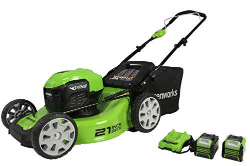 """Greenworks 40V 21"""" Brushless Lawn Mower"""