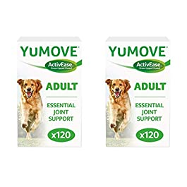 Lintbells YuMOVE Dog Joint Supplement for Stiff and Older Dogs – 240 (2x 120) Tablets