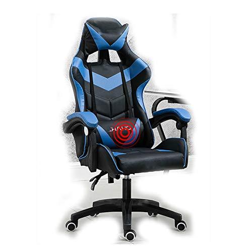 Gaming Chair BLTLYX Gaming Gamer Chair Bureaustoel Bureaustoel Stoel Synthetisch leer met leuningen Zoals afgebeeld 6