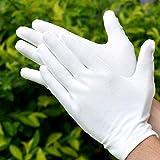 Immagine 1 giantgo 24 guanti bianchi in