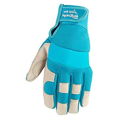Women's Adjustable HydraHyde Garden and Work Gloves (Wells Lamont 3204)