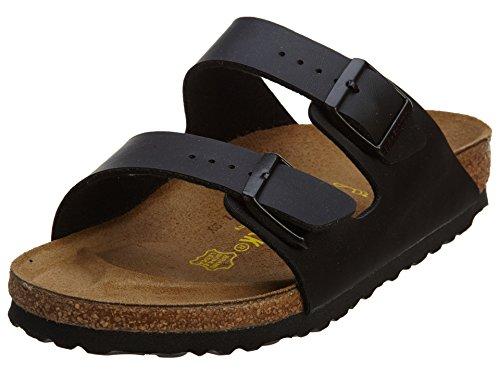 Birkenstock Men's Arizona Black Synthetic Sandals 9 D(M) US