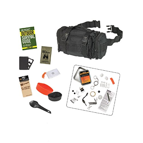 Snugpak Response Pak Survival Bundle (10 Piece), Black