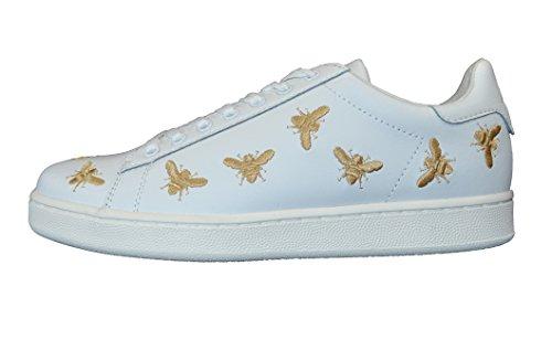 MOA , Damen Sneaker weiß weiß, weiß - weiß - Größe: 39