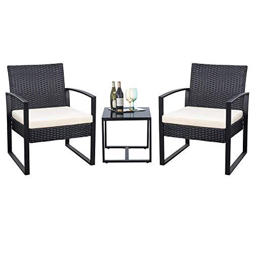 3pcs Outdoor Patio Furniture Set