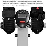 Rudergeräte Concept 2 Modell d multifunktionales Heim-Fitnessgerät for leises Training in der Taille (Color : Black, Size : 114 * 84 * 65cm) - 6