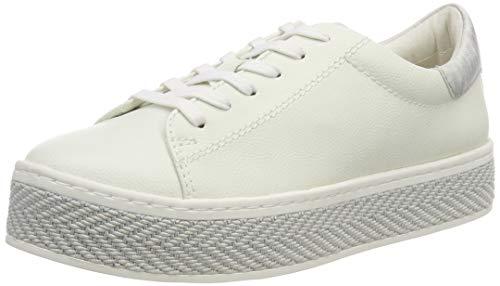 s.Oliver Damen 5-5-23636-22 100 Sneaker, Weiß (WHITE), 40 EU