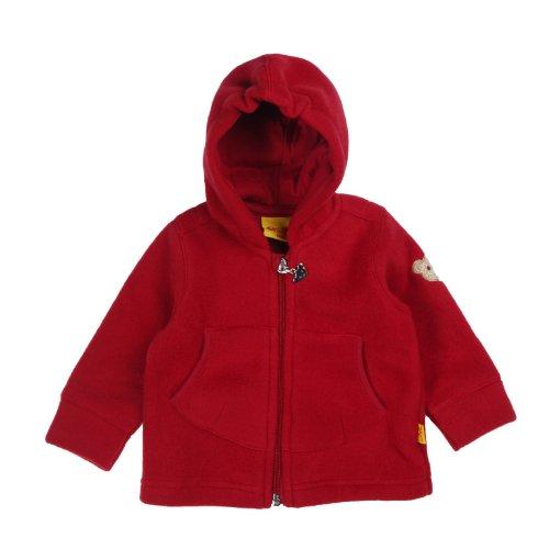 Steiff Unisex - Baby Sweatjacke 0006837 Rot (jester red ) 62