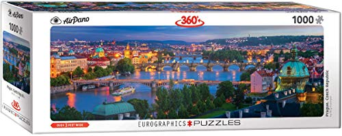 EuroGraphics 60105372 Prag, Czech Republic Puzzle, Various