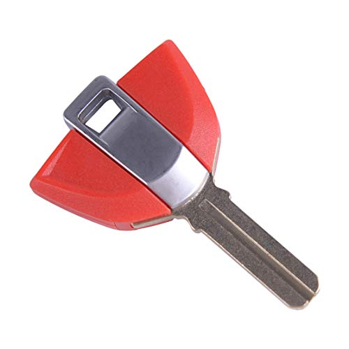 Eastar Red Motorcycle Uncut Keys Blade Blank Key Ignition fit for BMW R1200GS S1000RR F800GS