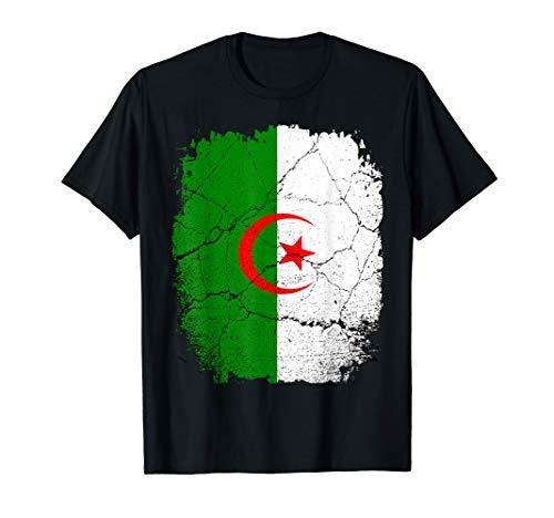 Algerien Algeria Retro Look T-Shirt