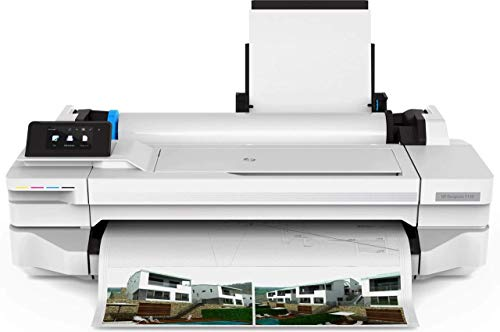 HP Designjet T125 (5ZY57A) Tintenstrahldrucker, Grau, Medienbreite bis 610 mm