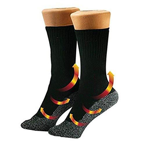 35 Below Ultimate Comfort Supersoft Einzigartige Socken Futter in Schwarz Thermo 3/5 Paar Herren Heat Holders Die ultimative Thermosocken Gr. Einheitsgröße, 3 Paar