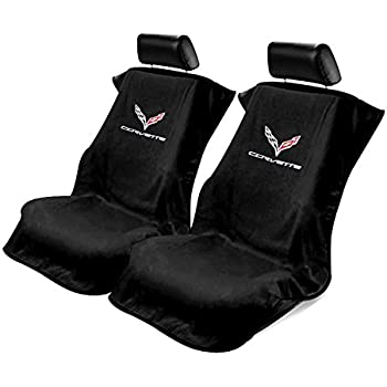 Terry Cloth Towel C7 Corvette Adrenalin Red Seat Armour Seat Cover W//Licensed C7 Logo