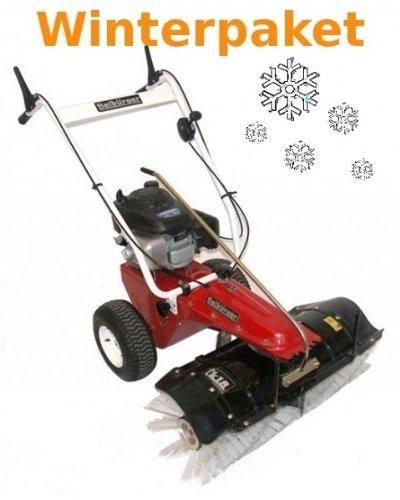 Tielbürger Kehrmaschine tk18 Winterpaket inkl. Schneeschild Schneeketten Bürsten