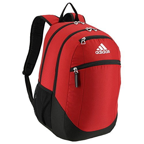 adidas Unisex Striker II Team Backpack, Team Power Red, ONE SIZE