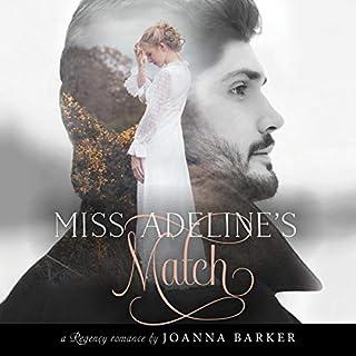 Miss Adeline's Match audiobook cover art
