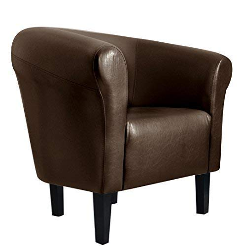 "FORTISLINE Sessel Clubsessel Loungesessel Cocktailsessel Monaco 2"" Braun W364 04"