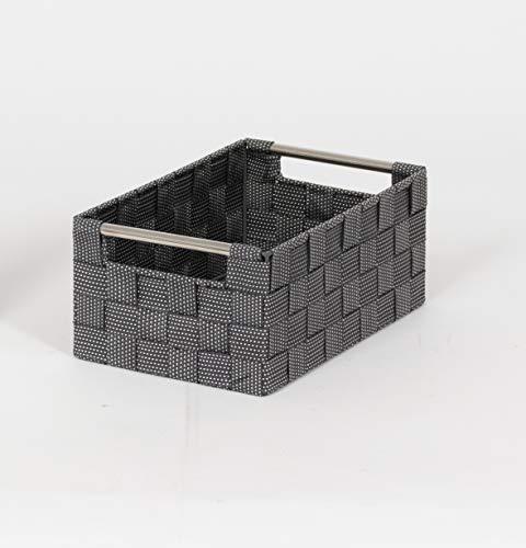 Compactor Cesta de almacenamiento, Color negro, Tamaño, 25 x 15 x 9 cm, RAN8697