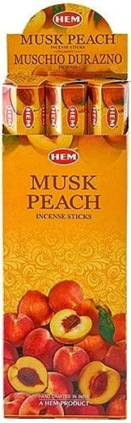 Hem Musk Peach Incense 120 Sticks
