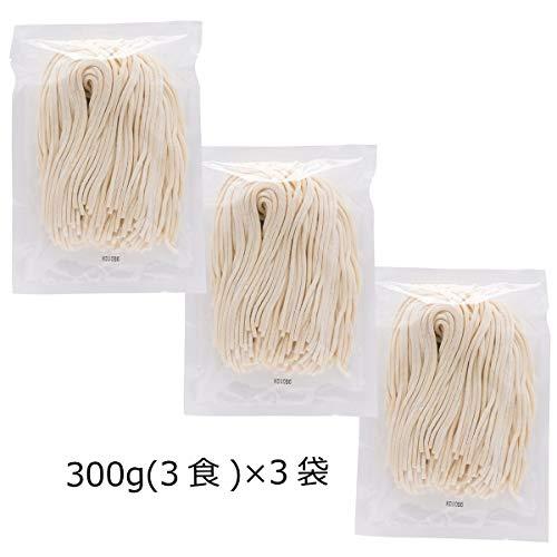 厳選した小麦粉(一等粉)100% うどん 通常 9食〔300g×3〕 ポスト投函便配送