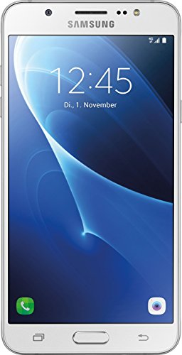 Samsung Galaxy J7 (2016) Smartphone (13,95 cm (5,5 Zoll) HD Super AMOLED-Display, 16 GB, Android 6.0 Marshmallow) weiß