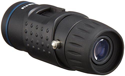 MIZAR-TEC単眼鏡7倍18口径小型タイプケース付きブラックMD-718