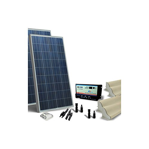 Kit Solar Camper 300W 12V Base Panel fotovoltaico