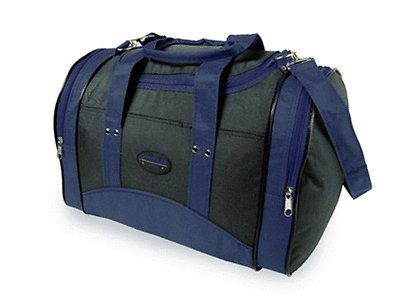 Wizzair cabin bag hand luggage fits in 42x32x25cm Massive 30 litre capacity (Navy & Black)