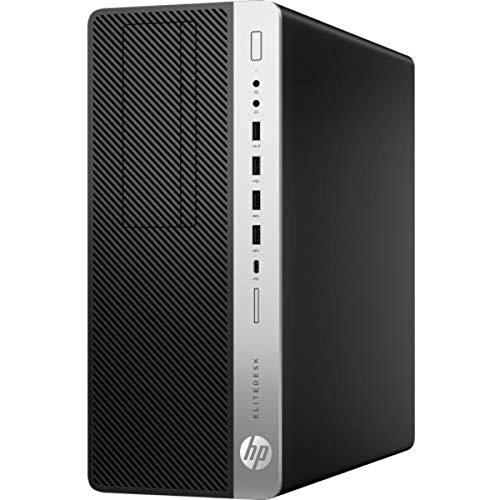 HP EliteDesk 800 G4 Tower PC, NVIDIA GeForce GTX 1060, Intel Core i7-8700 3.2GHz, 8GB RAM, 512GB SSD, Windows 10 Pro, 4BB05UT