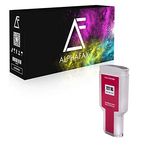 Alphafax Tintenpatrone kompatibel für HP 727 XL | Grau | F9J80A | 300ml | HP DesignJet T920 T930 T2500 T2530 T1500 T1530 PostScipt ePrinter