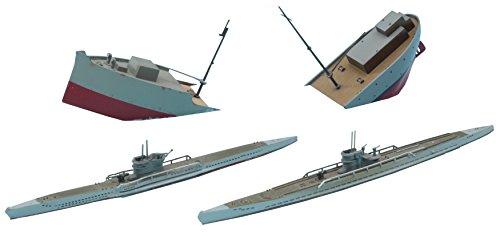 ハセガワ 1/700 ウォーターラインシリーズ ドイツ海軍 潜水艦Uボート 7C/9C プラモデル 901