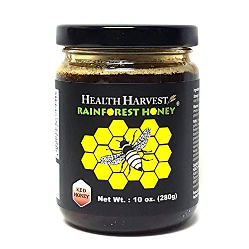 Tualang Red Honey 10oz   Multiple Awards-Winning   Total Activity 8+   Pollen 100+   Moderate Choice for Adult & Teenage Health Maintenance   From Tropical Rainforest Heritage of Sumatra