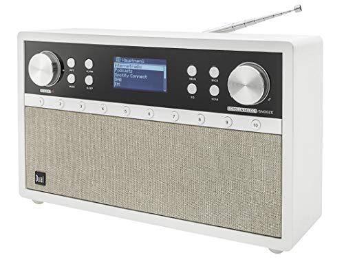Dual Radiostation IR 105S Schneewittchen - Internetradio - DAB - UKW - WiFi - AUX - Bluetooth - Spotify-Connect