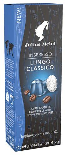 10x Julius Meinl - Inspresso Lungo Classico 4-55g