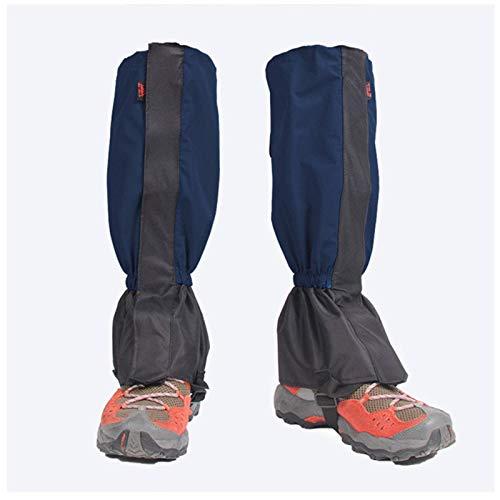 N-B Outdoor Hiking Cold Waterproof Mountaineering Hiking Gaiters, Plus Velvet Waterproof Leggings Ski Harness Strap, Can Be Used For Hiking, Skiing, Walking, Climbing