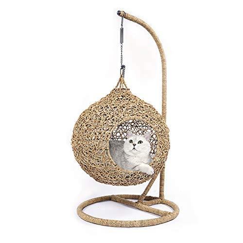 DALEI Columpio para Silla Cat Hammock, Capacidad de 15 kg, hogar Interior/Exterior, Patio, terraza, Patio, jardín