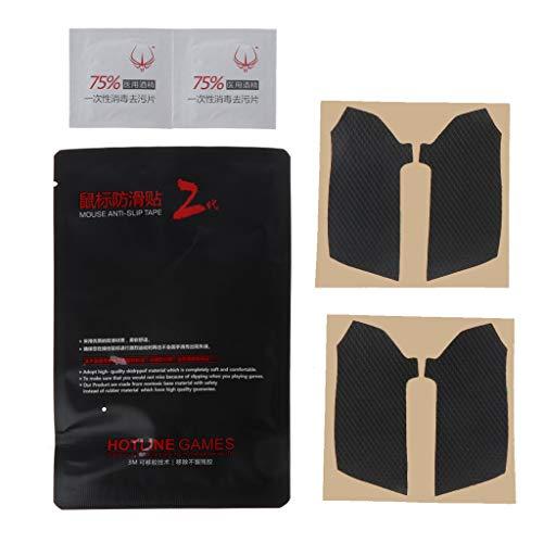 huiingwen, set di 2 adesivi originali Hotline Games resistenti al sudore per piedi del mouse, pattini da ghiaccio, nastro per computer per Razer Viper Mouse