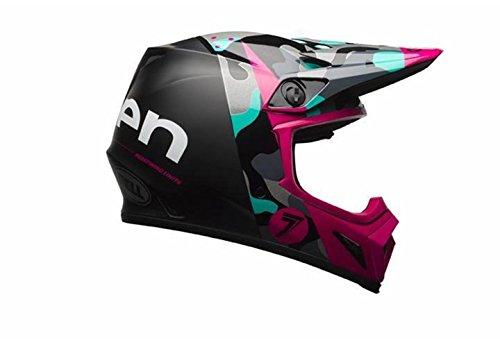Bell Unisex-Adult Off Road Helmet (Seven Soldier Magenta, XX-Large) (Mx-9 mips D.O.T certified)