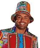 Crazy Folk Hat Man Hut Accessoires Karneval Halloween