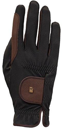 Roeckl Sports Winter Handschuh Malta, Unisex Reithandschuh, Schwarz/Mokka, 7,5
