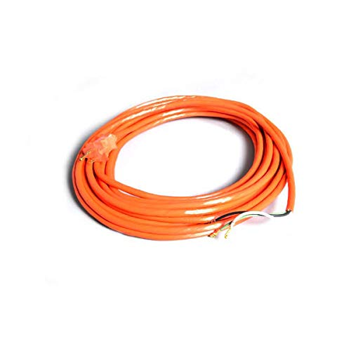 Fantastic Deal! TVP Replacement for Hoover C3820 Commercial Steam Vacuum Cleaner 35' 3 Wire Cord # 4...
